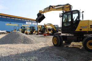 YANMAR excavators and loaders