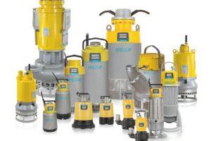 ATLAS COPCO electric submersible dewatering pumps